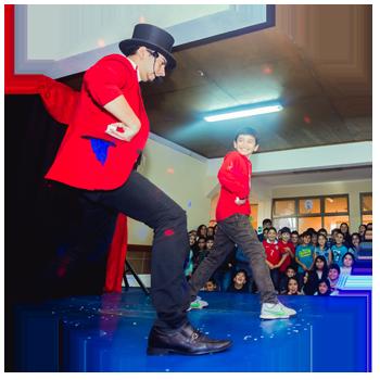 show de magia para colegios