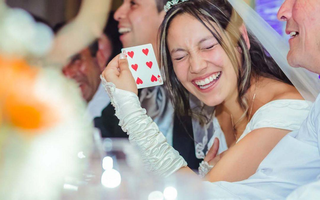 Show de magia para matrimonios