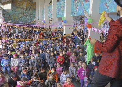 mago santino en Colegio San Francisco Talcahuano