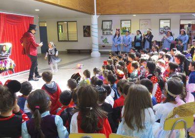 mago santino en Colegio Pinares Chiguayante